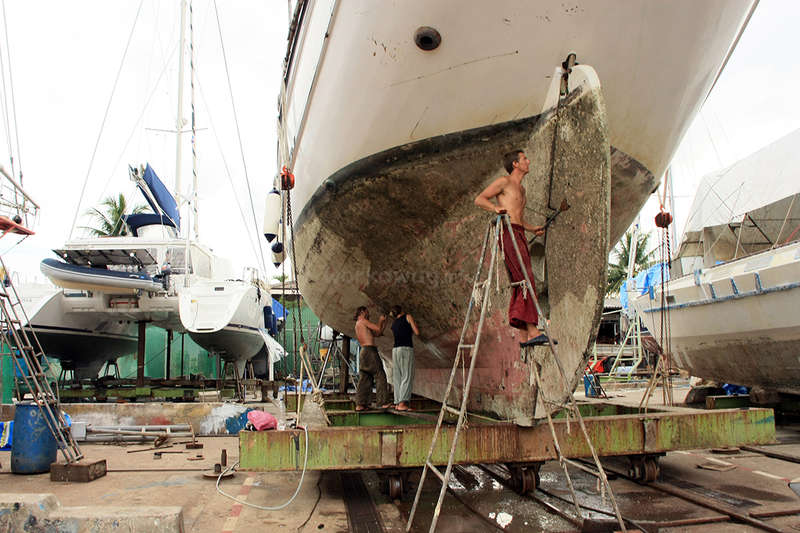 Help us maintain a traditional wooden sailing boat here in