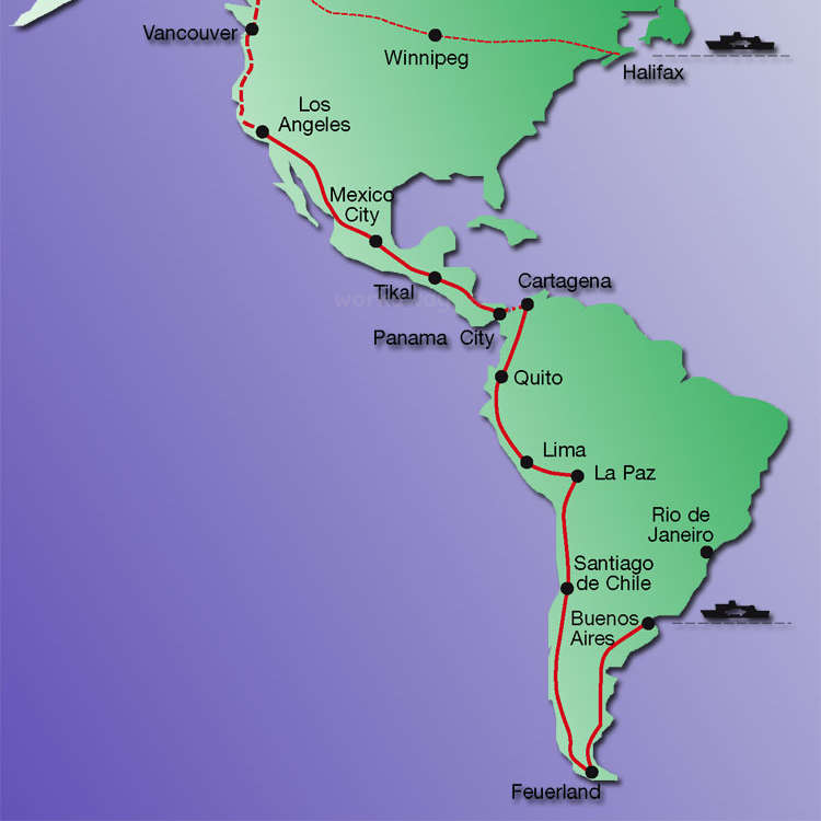 Panamericana On Tour