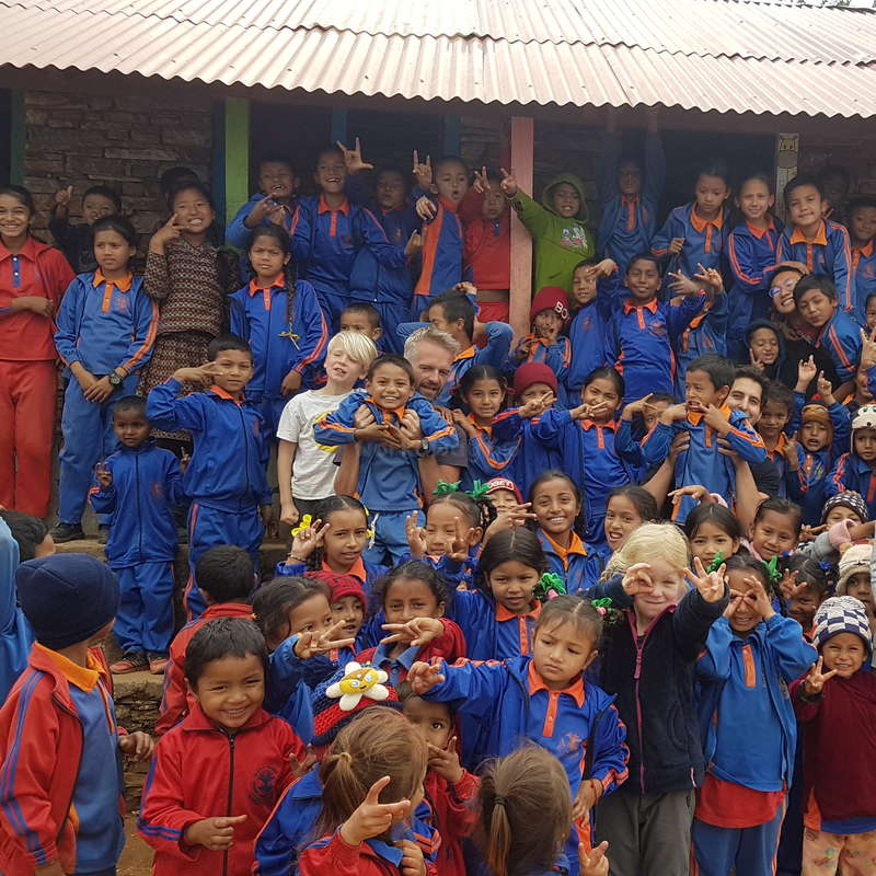 Experience Nepali village life and help out at our school