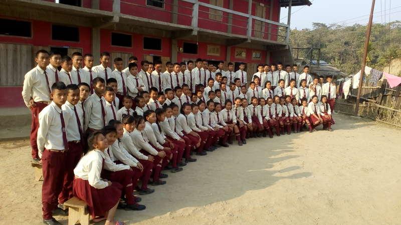Volunteering with destitute and underprivileged children