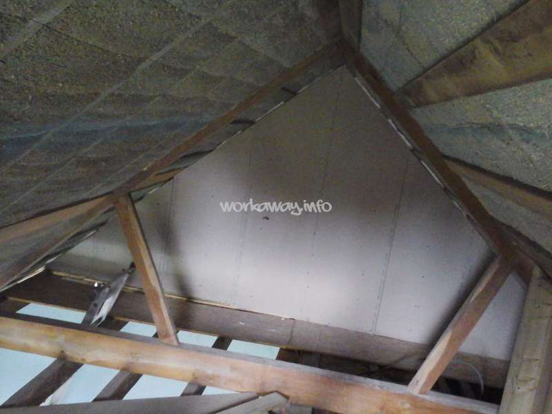Weu0027ve Opened Up The Roof And Insulated With 20cm Of Hempcrete