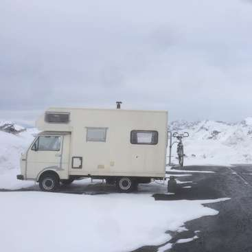 740d75aabe Vagabond living in Spain and Portugal in an old VW truck camper