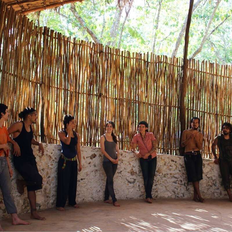 Off The Grid Ranch Deep Inside The Jungle Yucatan Mexico