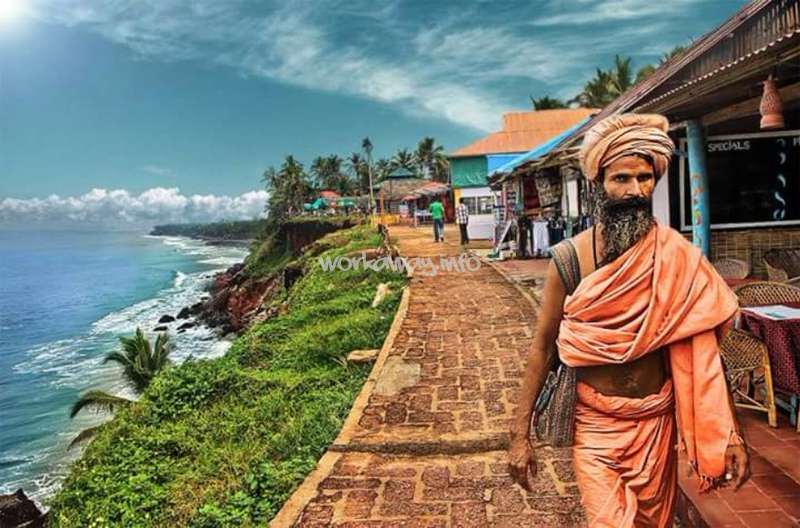 Need A Help At Guest House In Varkala Beach India