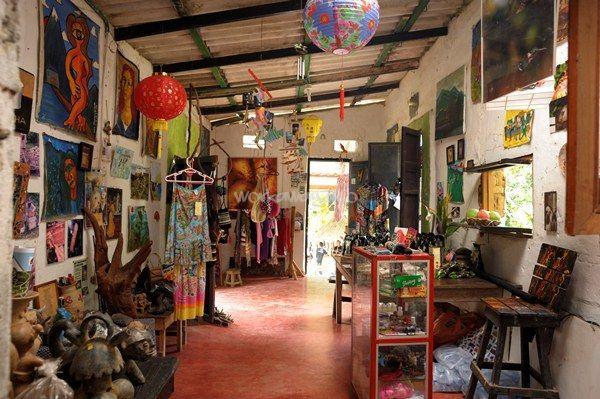 Help Out In A Small Village Coffee Shop Near Santa Marta