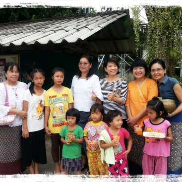 Little help for our tiny village in Chiangmai, Thailand