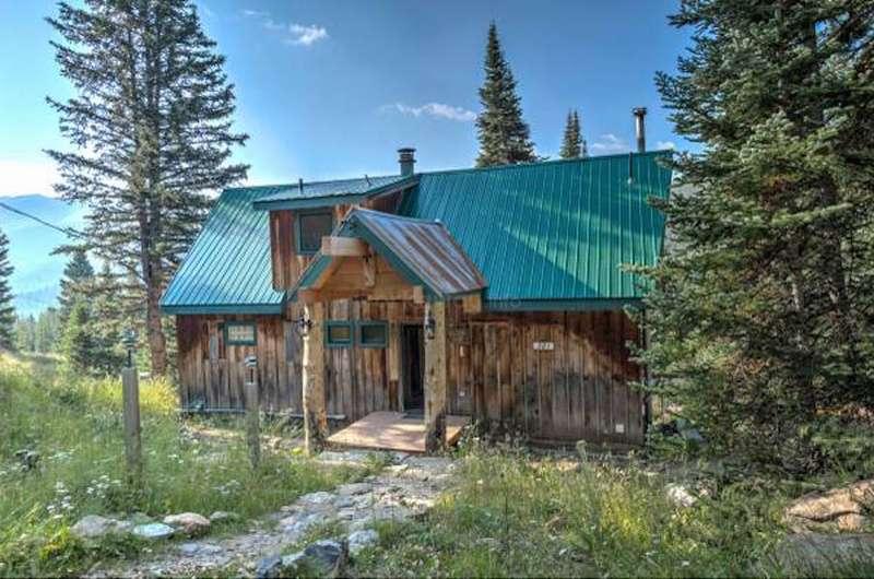 Cabin in the colorado mountains usa near breckenridge resort for Breckenridge cottages