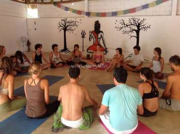 Live in spiritual community and practice Yoga and Meditations in Mazunte