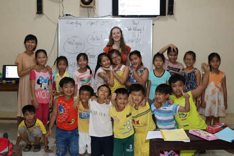 Looking for help with our non - profit English school in Bến Tre