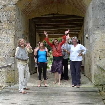 Help out around a early medieval castle which we are restoring in