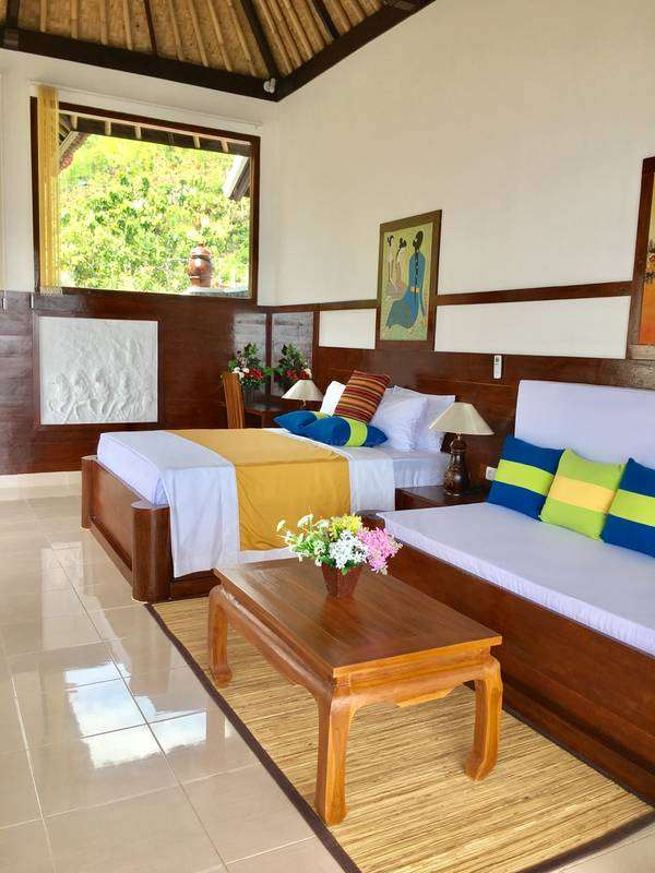 Help With Yoga And Computers At Our Lodge In Amed Bali Indonesia