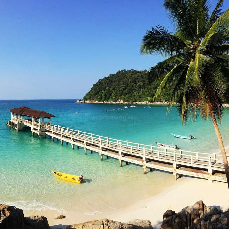 Malaysia Beaches: Join Us At The Breathtakingly Beautiful Perhentian Island