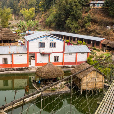 Volunteer at a school and organic farm in rural Nepal, near