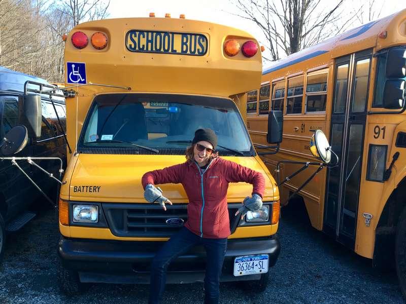 Skoolie Bus Build in Brooklyn, New York!!!