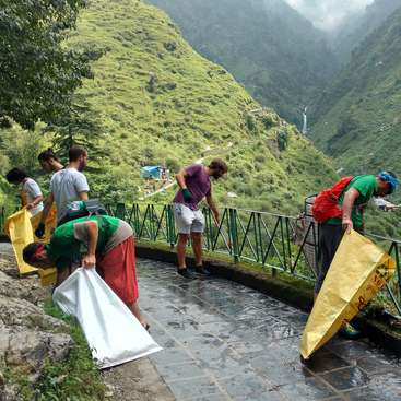 Help our NGO fight Dharamsala's waste, keep Himalayas clean