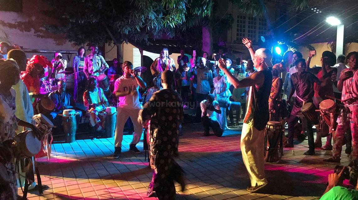 senegal host dancing and yoga