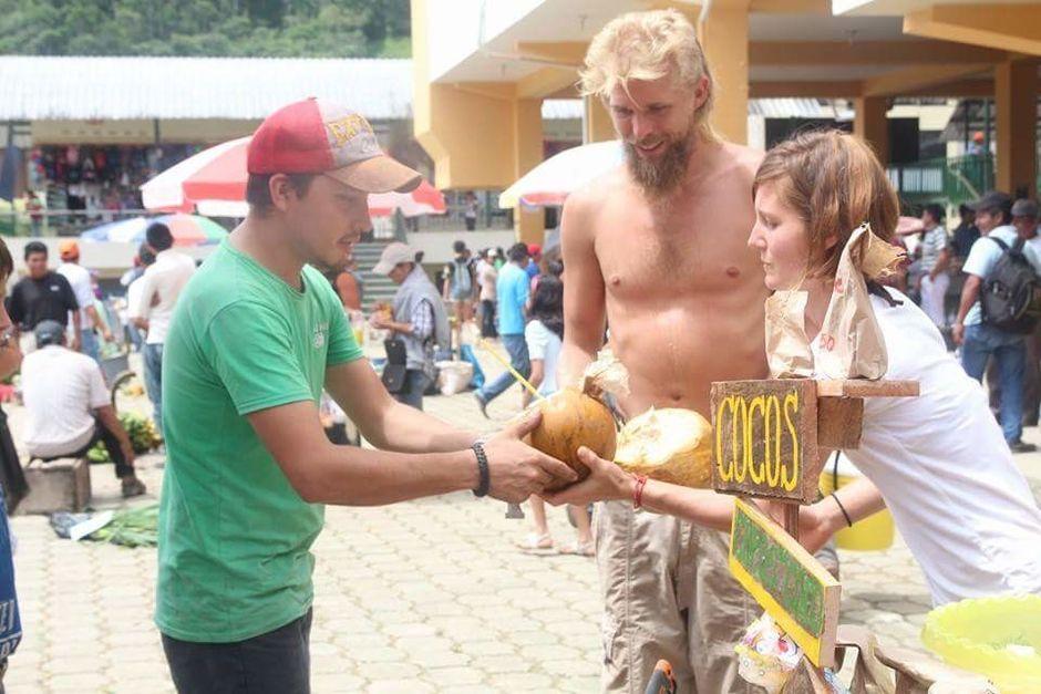 local community coconut market skills exchange