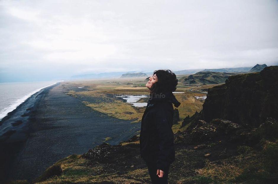 solo female workawayer in iceland