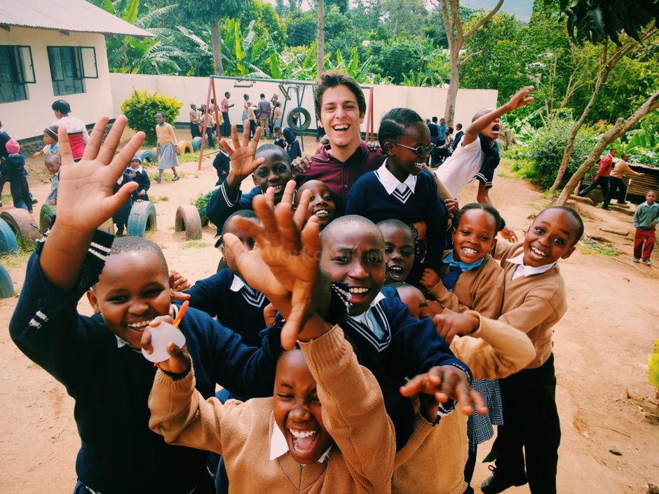 happiness teaching abroad school voluntourism