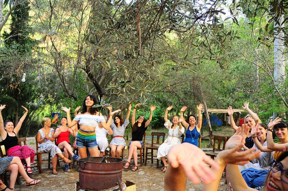great yoga retreat with a turkish farm