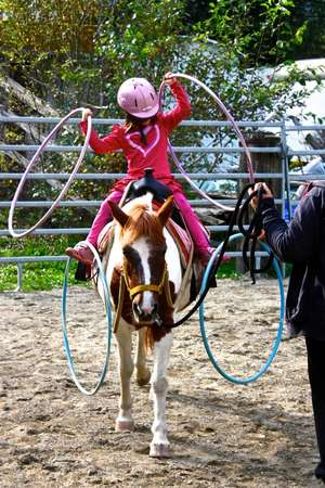 Hula Horse Girl