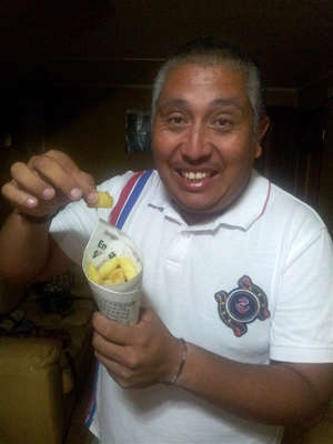 Workaway host Hector