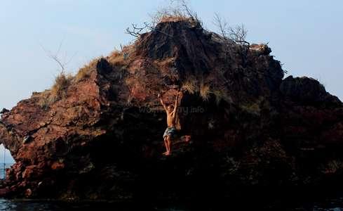 cliff jump comfort zone challenge workaway
