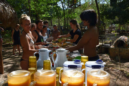 volunteer help workaway surf camp