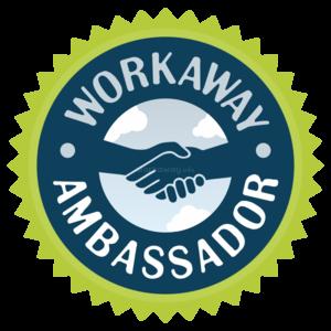 workaway ambassador badge