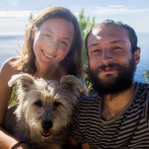 two hungry people and the dog-2907