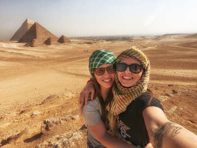 Egyptian Pyramids working holiday jobs