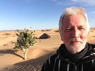 workawayer in Africas desert