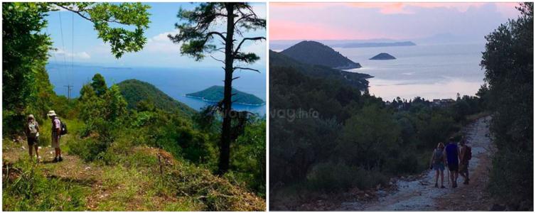greece hiking trails