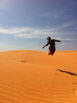 jump desert  local expereince