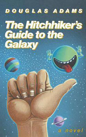 hitchhiker's guide to the galaxy book cover