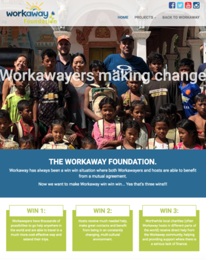 workaway foundation webpage