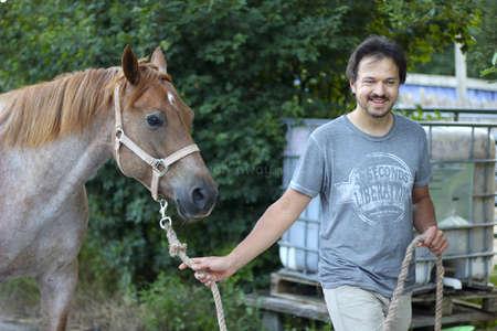 volunteer walking horse workaway travel
