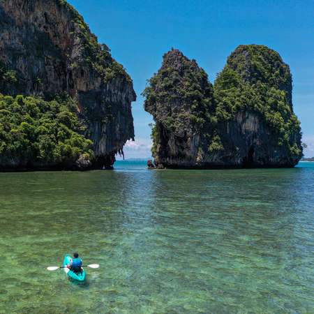 workaway kayak Thailand tropical paradise island