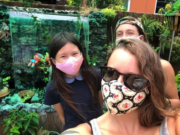 workaway Thailand during covid wear masks