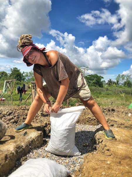 workaway volunteer eco building mudhouse