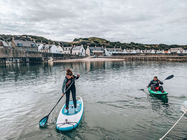 scotland standup paddle local traveller