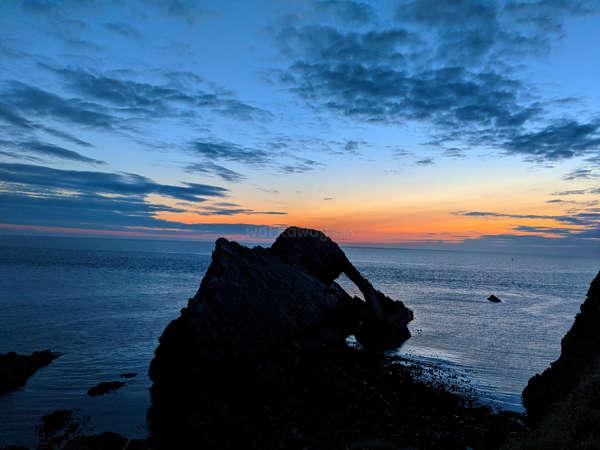 travel local sea sunrise scotland