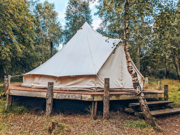 travel local middle earth clamping tent