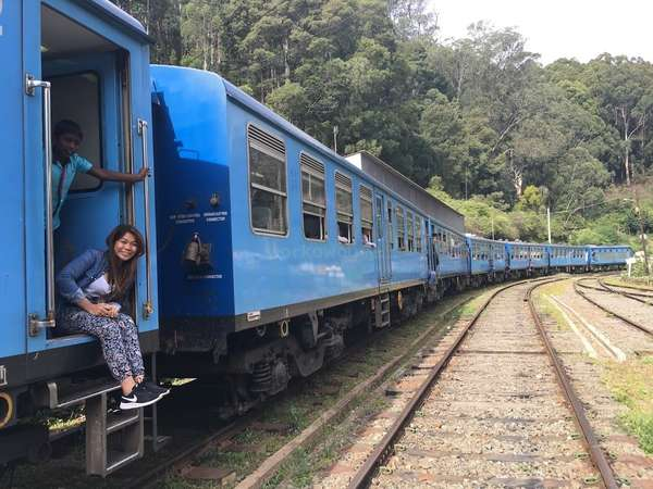 train ride Sri Lanka gap year travel
