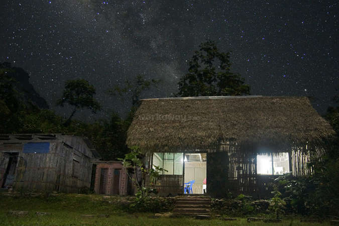 workaway in nature Milky Way stars accommodation