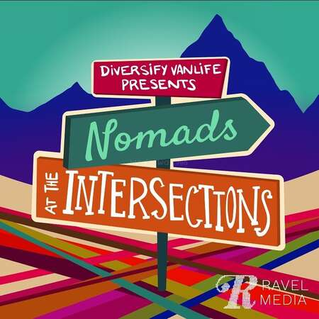podcast cover diversify van life nomads at the intersection