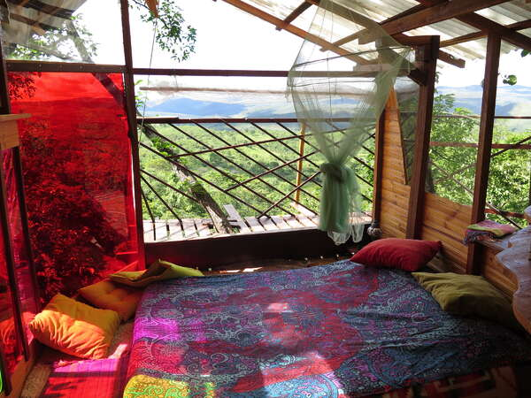 workaway eco travel tree house nature views volunteer abroad sustainable project