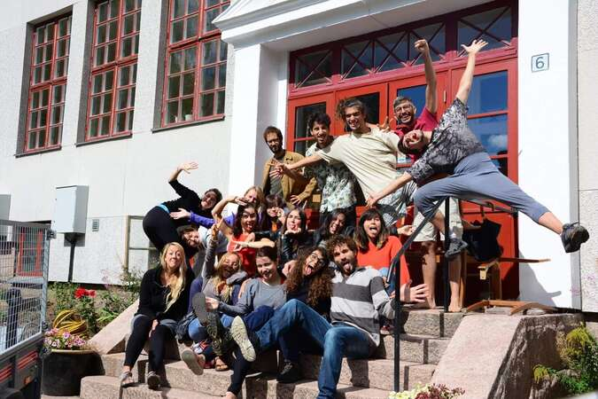 workaway group community in sweden happiness friendship
