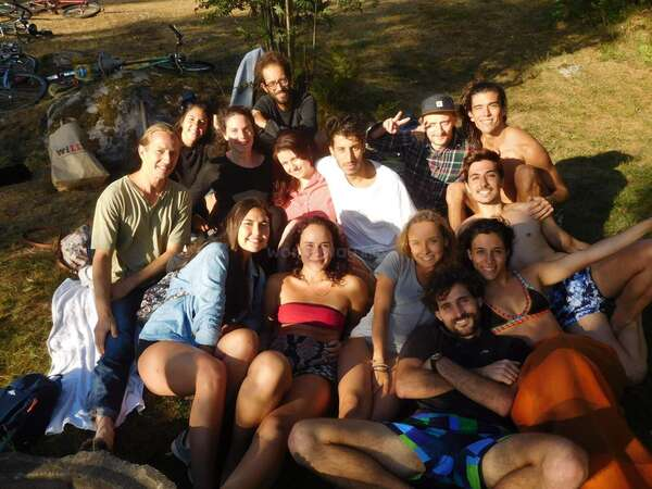 group outing workawayers global community enjoy travel volunteer abroad