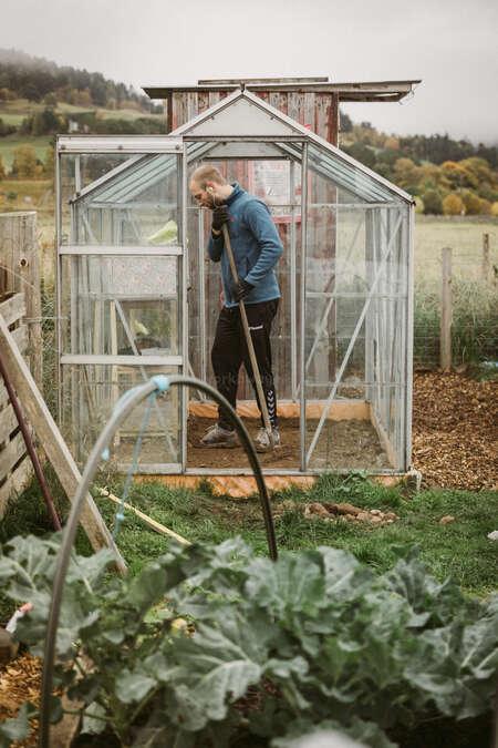 green house workaway volunteer garden learning experience skill